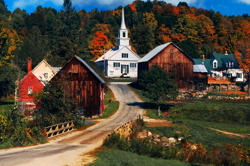 Waits River Village; Vermont