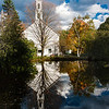 Church Reflection; Newfane, Vermont