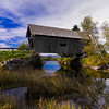 Covered Bridge; Cabot Plains Road; Cabot, Vermont