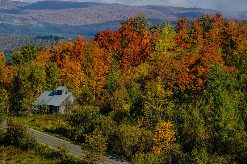 Burton Road Sugarhouse; Barton, Vermont