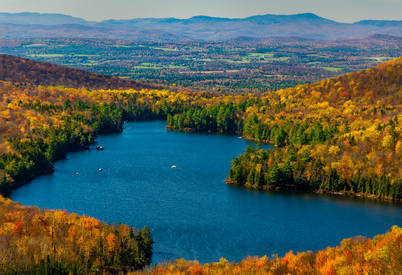 Kettle Pond from Owl's Head Overlook