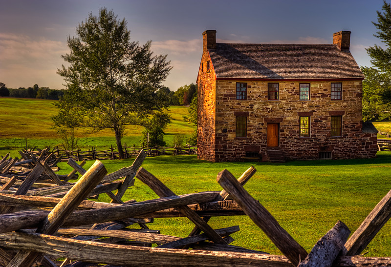 Stone House; Battlefield National Park; Manassass, Virginia