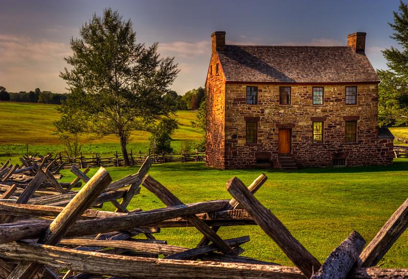 Stone House; Battlefield National Park; Manassass, Virginia