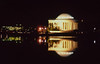 Jefferson Memorial, nighttime reflection