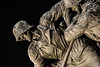 Iwo Jima Memorial Close up