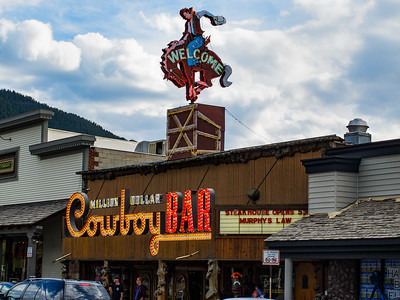 Cowboy Bar; Jackson Hole, Wyoming
