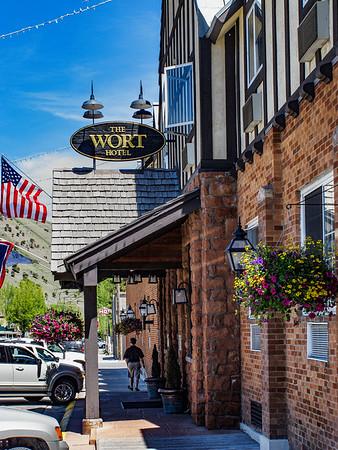 Wort Hotel; Jackson Hole, Wyoming
