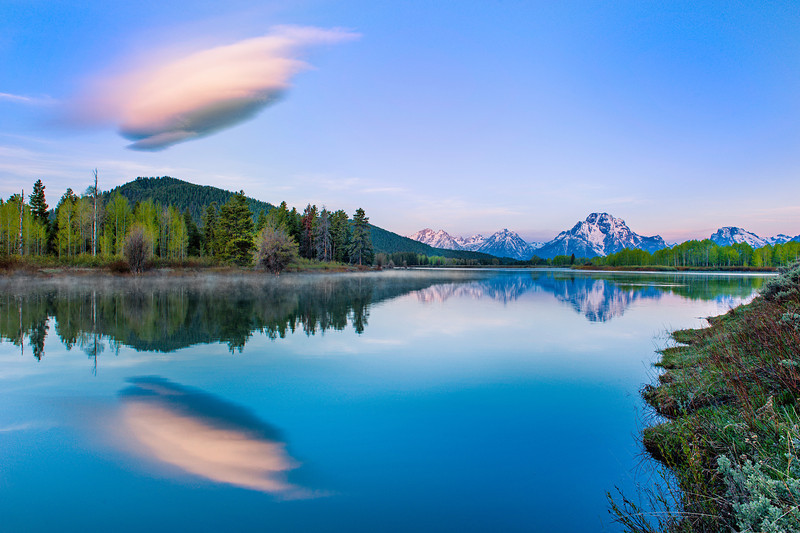 Oxbow Bend, Snake River, Grand Teton National Park, Wyoming