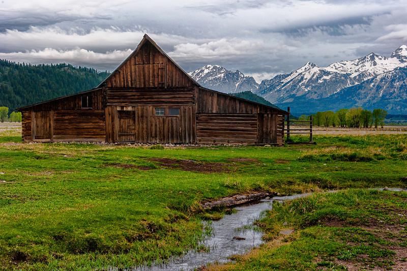 Moulton Barn, Mormon Row, Grand Teton National Park, Wyoming