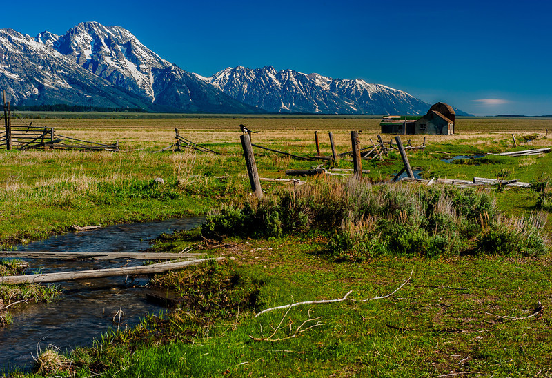 Thomas Murphy Homestead, Mormon Row, Jackson Hole, Wyoming