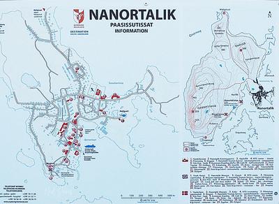 Nanortalik, South Greenland - Map