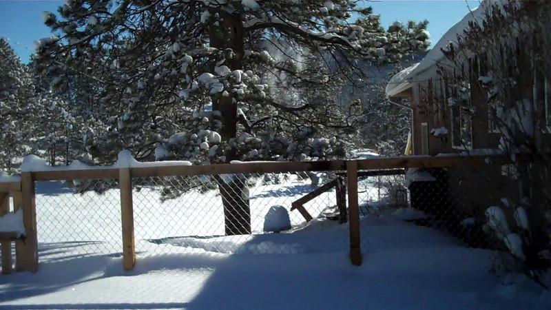 "30"" + of snow, 12/22/2011"
