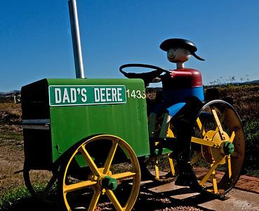 LB 21  Dad's Deere