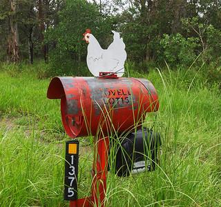 LB 135 Lovell's Chicken Letterbox