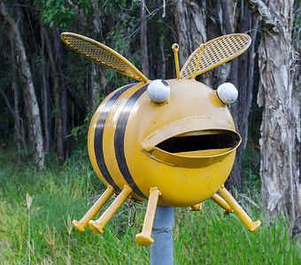 LB 150 Buzzing Bee Letterbox