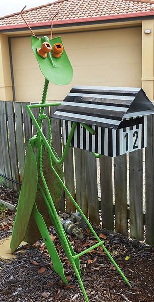 LB 149 Grasshopper Letterbox