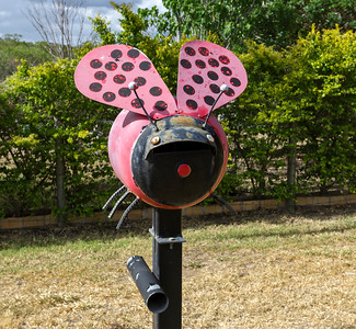 LB 129 Lady Beetle Letterbox