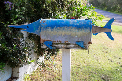 LB 160 Swordfish Letterbox