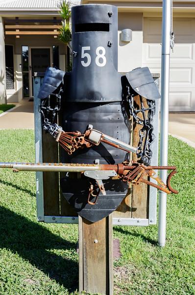LB 132 Stick Em Up Letterbox