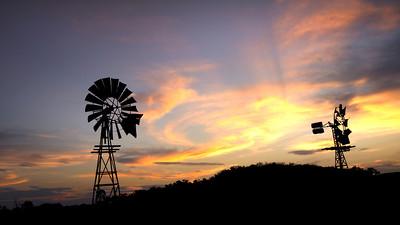 C 03  A country Sundown