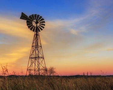 C 91 Windmill Skies