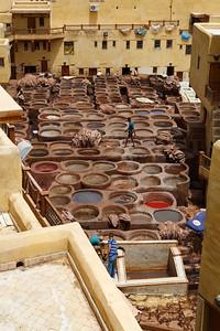 Chouarra tannery, Fez