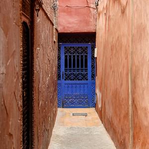 The blue door 1