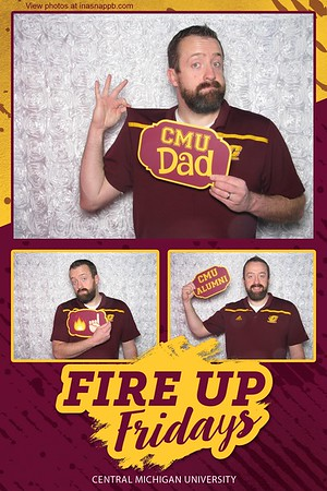 CMU Fire Up Fridays 3/16