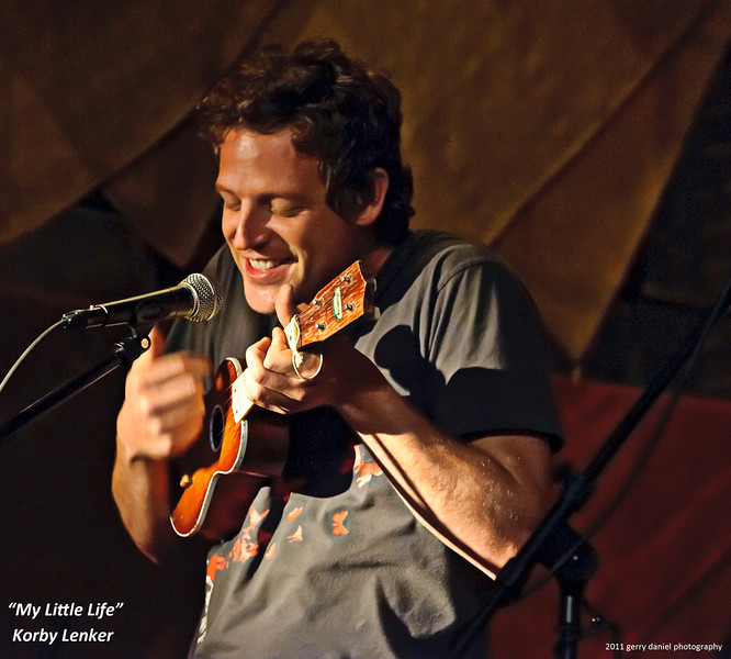 """<a href=""""http://www.facebook.com/KorbyLenker"""">Korby Lenker</a> performing """"My Little Life"""" at the <a href=""""http://theredcatcoffeehouse.com/"""">Red Cat Coffee House</a> in Birmingham, AL 6/9/2011"""