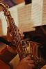 Playing Saxophone ca. 2000