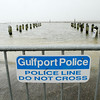 Barricades block the boat launch at Ken Combs pier in Gulfport, Miss as the Mississippi Gulf Coast prepares for the effects of a massive oil slick caused by a leaking well in the Gulf of Mexico on Sunday, May 2, 2010. (AP Photo/The Sun Herald, James Edward Bates) TV OUT; ONLINE OUT; MANDATORY CREDIT