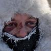 Celeste Davis moves through the Takotna, Alaska  checkpoint on Friday, March 12, 2010 during the Iditarod Trail Sled Dog Race. (AP Photo/Anchorage Daily News, Bob Hallinen)