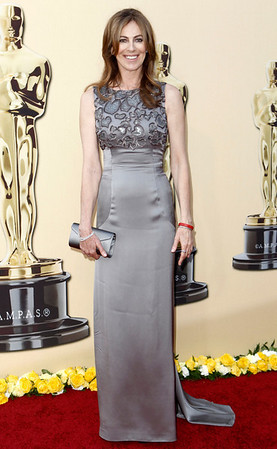 Director Kathryn Bigelow arrives during the 82nd Academy Awards Sunday,  March 7, 2010, in the Hollywood section of Los Angeles. (AP Photo/Matt Sayles)