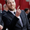 "Actor Sam Worthington, of the film ""Avatar,"" arrives at the 82nd Academy Awards Sunday,  March 7, 2010, in the Hollywood section of Los Angeles. (AP Photo/Amy Sancetta)"