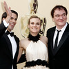 From left, Eli Roth, Diane Kruger and director Quentin Tarantino arrive during the 82nd Academy Awards Sunday,  March 7, 2010, in the Hollywood section of Los Angeles. (AP Photo/Matt Sayles)