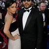 Zoe Isabella Kravitz, left, and Lenny Kravitz arrive at the 82nd Academy Awards Sunday,  March 7, 2010, in the Hollywood section of Los Angeles. (AP Photo/Amy Sancetta)
