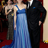 James Cameron, right, and Suzy Amis arrive during the 82nd Academy Awards Sunday,  March 7, 2010, in the Hollywood section of Los Angeles. (AP Photo/Matt Sayles)