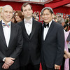 From left, Director and Producer Jon Alpert and Matthew O'Neill are seen with Directors Peter Kwong and Michelle Mi as they arrive at the 82nd Academy Awards Sunday,  March 7, 2010, in the Hollywood section of Los Angeles. (AP Photo/Amy Sancetta)