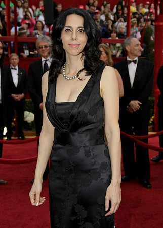 "Rebecca Cammisa, nominated for best documentary feature for ""Which Way Home,"" arrives at the 82nd Academy Awards Sunday, March 7, 2010, in the Hollywood section of Los Angeles. (AP Photo/Amy Sancetta)"