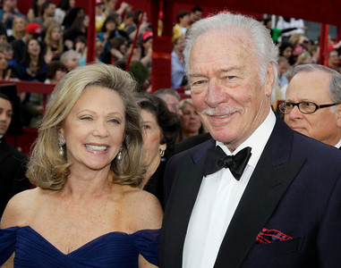 Best Supporting Actor nominee Christopher Plummer and wife Elaine Taylor arrive at the 82nd Academy Awards Sunday, March 7, 2010, in the Hollywood section of Los Angeles. (AP Photo/Amy Sancetta)