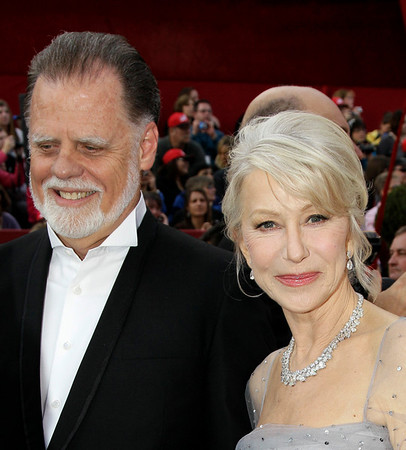 Best Actress nominee Helen Mirren and husband Taylor Hackford arrive at the 82nd Academy Awards Sunday,  March 7, 2010, in the Hollywood section of Los Angeles. (AP Photo/Amy Sancetta)