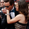 Robert Downey Jr. and Susan Downey arrive during the 82nd Academy Awards Sunday,  March 7, 2010, in the Hollywood section of Los Angeles. (AP Photo/Matt Sayles)