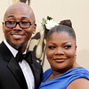 Mo'Nique and her husband Sidney Hicks arrive during the 82nd Academy Awards Sunday,  March 7, 2010, in the Hollywood section of Los Angeles. (AP Photo/Matt Sayles)