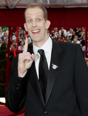 "Director of ""Up"" Pete Docter arrives at the 82nd Academy Awards Sunday,  March 7, 2010, in the Hollywood section of Los Angeles. (AP Photo/Amy Sancetta)"