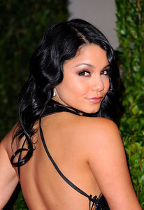 Vanessa Hudgens arrives at the Vanity Fair Oscar party on Sunday, March 7, 2010, in West Hollywood, Calif. (AP Photo/Peter Kramer)
