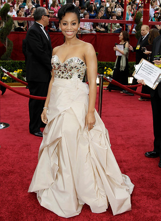 Anika Noni Rose arrives at the 82nd Academy Awards Sunday,  March 7, 2010, in the Hollywood section of Los Angeles. (AP Photo/Amy Sancetta)
