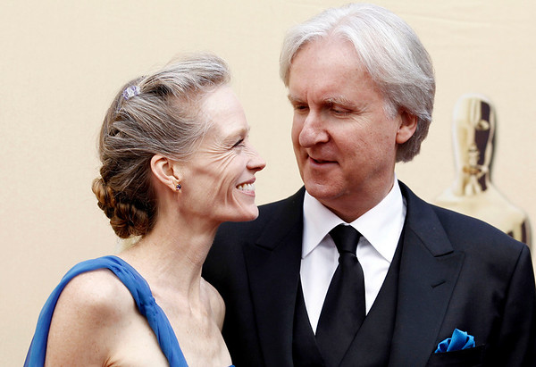 James Cameron and Suzy Amis arrive during the 82nd Academy Awards Sunday,  March 7, 2010, in the Hollywood section of Los Angeles. (AP Photo/Matt Sayles)
