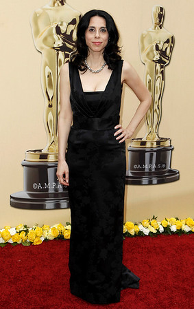"Director Rebecca Cammisa of the documentary film, ""Which Way Home"" arrives during the 82nd Academy Awards Sunday,  March 7, 2010, in the Hollywood section of Los Angeles. (AP Photo/Matt Sayles)"