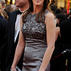 "Director of ""The Hurt Locker,"" Kathryn Bigelow arrives at the 82nd Academy Awards Sunday,  March 7, 2010, in the Hollywood section of Los Angeles. (AP Photo/Chris Pizzello)"