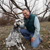 his Feb. 9, 2010 photo shows Elliott Weiss with his 8-month-old English Setter Shiloh near their home outside Eagle, Idaho. Weiss is a retired dog handler from upstate New York who has being invited to judge Best of Show during the Westminster Kennel Club Dog Show at Madison Square Garden in New York City. (AP Photo/Idaho Statesman, Shawn Raecke)